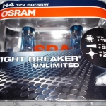 OSRAM NIGHT BREAKER UNLIMITED ขั้ว H4