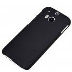 เคส HTC One M8 Nillkin Frosted Case - สีดำ +ฟิล์มกันรอย