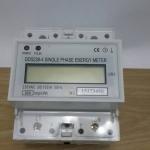 วัตต์มิเตอร์ดิจิตอล 1 เฟส แบบยึดราง (DIN Rail Kilowatt-Hour Meter ) พิกัด 30(100)A