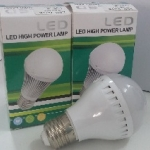 หลอดไฟ LED E27 Bulb ขนาด 3W 24V 6000K PL
