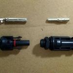 Cable & Connector (ตัวเชื่อมสายไฟ) แบบ MC4 for Input Inverter