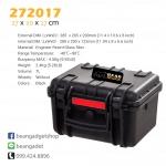กระเป๋ากล้อง กันกระแทก กันน้ำ Waterproof Case IP67 27 x 20 x 17 cm BearMaxx #272017