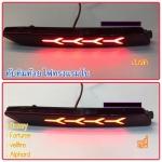 ไฟ LED ทับทิมท้าย Fortuner 2012-16 ทรง lamborghini