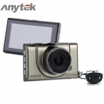 กล้องติดรถยนต์ Anytek A100H กล้อง หน้า-หลัง (WDR) Full-HD 1080P