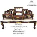 โต๊ะหมู่บูชา หิ้งพระ ศาลพระภูมิ ไม้สักทอง