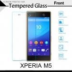 กระจกนิรภัย Xperia M5 (หน้า) Tempered Glass Screen Protector Protective