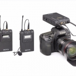 BY-WM8 Boya Wireless UHF Dual-Channel Microphone For DSLR Mirrorless Camera ไมค์โครโฟนไร้สายกล้อง DSLR
