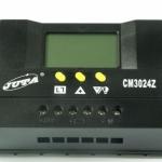 โซล่าชาร์จเจอร์ เครื่องควบคุมการชาร์จ หน้าจอ LCD - Solar Charge Controller 30A auto 12/24V