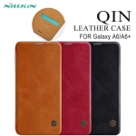 เคส Samsung Galaxy A6+ ของ Nillkin Qin Leather Case