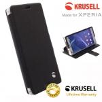 เคสฝาพับ Xperia Z3 Compact ของ Krusell Malmo Flip Wallet Case
