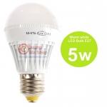 หลอดไฟ LED HOSHI E27 5W (WW) แสงสีเหลือง