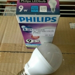 หลอดไฟ LED E27 Bulb ขนาด 9W 220V Cool White PL (Philips)
