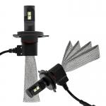 ไฟหน้า LED ขั้ว H4 Cree 4 ดวง 60W Turbo No Fan