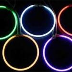 ไฟ CCFL วงแหวน เคลือบสี ขนาด 78.5 mm