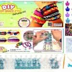 """หนังยางถักแฟนซี loom band : 6 เหตุผลที่คุณหนูๆและผู้ปกครองพากันสนุกสนาน ชื่นชอบ และเพลิดเพลินกับการทำ """" DIY Loom Band Bracelets Exclusive Kit """""""