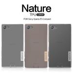 เคสยาง Xperia Z5 Compact ของ Nillkin Nature TPU 0.6mm Case