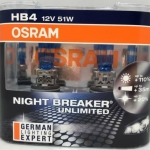 OSRAM NIGHT BREAKER UNLIMITED ขั้ว HB4