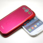 Vogue Pink Red Case For Samsung Galaxy S3