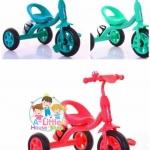 รถสามล้อเด็ก รถจักรยานสามล้อเด็ก มีกระดิ่ง มีกระป๋องใส่น้ำ (มีสีชมพูเท่านั้น)