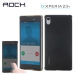 เคสฝาพับ Xperia Z3+ ของ Rock Dr.V Series Case (ใช้งานผ่านหน้าเคสได้เลย)