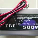 Inverter (หม้อแปลงไฟฟ้า) รุ่น PSW-500W 24V TBE