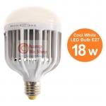 หลอดไฟ LED HOSHI E27 18W (CW) Day แสงสีขาว