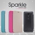 เคสฝาพับ Asus Zenfone 2 (หน้าจอ 5 นิ้ว) ของ Nillkin Sparkle Leather Case