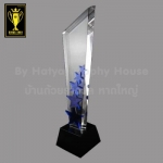 CA-011-NEW ถ้วยรางวัล ดาว STAR Crystal Award & Premium