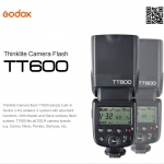 TT600 Godox Flash Speedlight for Canon NIKON Wireless Trigger X1N-T TT685 แฟลชหัวค้อน