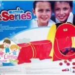 เต็นท์อุโมงค์ พร้อมบอล 100 ลูก**ในกล่อง**