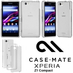 Sony Xperia Z1 Compact - Case Mate Tough Naked Case - Crystal Clear