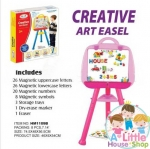 กระดานแม่เหล็ก First Classroom - Creative Art Easel – Pink(1109B) / Yellow(1109A)