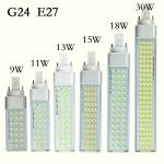 หลอดไฟ LED E27 Bulb รุ่น G24 ขนาด 9W 220V 6000K