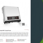 Goodwe inverter GW1000‐NS
