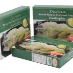 รำวง - ข้าวเหนียวทุเรียนสำเร็จรูป ชนิดกล่อง เกรดพรีเมี่ยม (Ramwong Durian Sticky Rice in Coconut Cream)