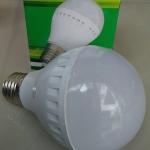 หลอดไฟ LED E27 Bulb ขนาด 12W 12V 6000K PL