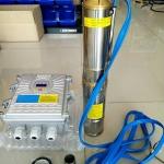 โซล่าปั๊ม (Solar Pump) ชนิด Submersible รุ่น STC-3SW3.0/78-D48/750
