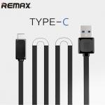 สายชาร์จ Remax - USB Type-C Cable สีดำ