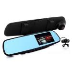 กล้องกระจก Vehicle Blackbox DVR Full HD 1080P