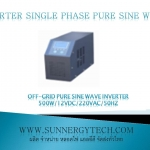 Off-grid pure sine wave inverter 500W/12VDC/220VAC/50Hz