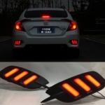 ไฟ LED ทับทิมท้าย Honda Civic 2016 (FC) V.2