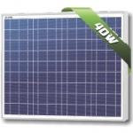 แผงโซล่าเซลล์ Solarland ชนิด Polycrystalline Silicon ขนาด 40W รับประกัน 10 ปี