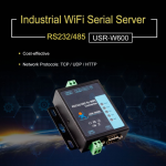 USR-W600 ตัวแปลงสัญญาณ RS232/RS485 เป็น WIFI (RS232/RS485 to WIFI Converter)