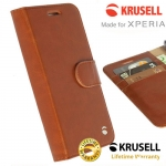 เคสฝาพับ Xperia XA ของ Krusell Ekero FolioWallet 2in1