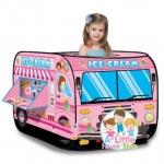 เต็นท์ รถขายไอศครีม สีชมพูสุดสวย ***Candy Car Plat Tent***