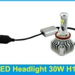 ไฟหน้า LED ขั้ว H11 Cree 3 ดวง 30W