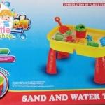 โต๊ะเล่นทรายเล็ก-มีฝาปิด-ถอดประกอบได้พร้อมอุปกรณ์-ขนาด-28x42x26-ซม
