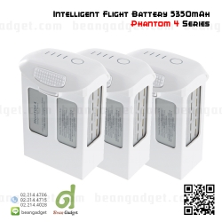 แบตเตอรี่ DJI Phantom 4 Part 54 Intelligent Flight Battery 5350mAh LiPo 3 pcs