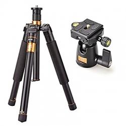 ขาตั้งกล้อง QZSD Q555 Professional Tripods + Monopod + Ball Head Load 6kg. ขาตั้งกล้อง+โมโนพอด