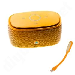 ลำโพงบลูทูธ 金冠 Kingone K5 Bluetooth Speaker ลำโพงพกพาไร้สาย เบสแน่น - ส้ม